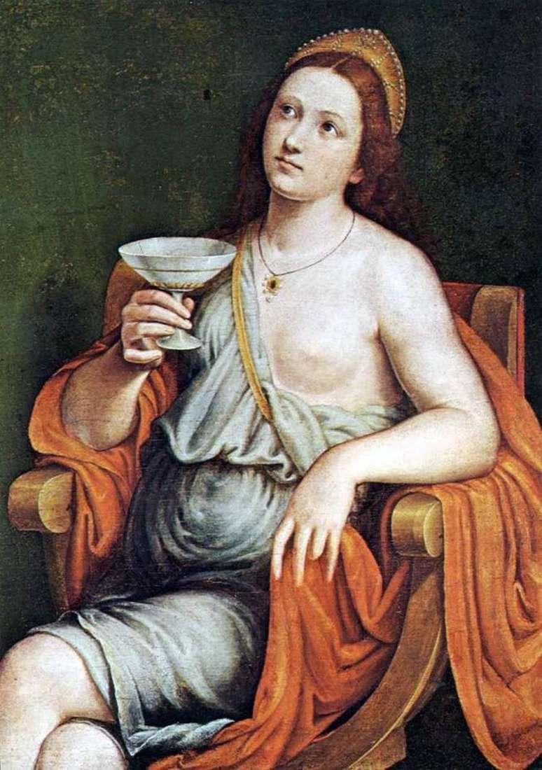 سوفونيسبا يشرب السم   جيوفاني فرانشيسكو كاروتو