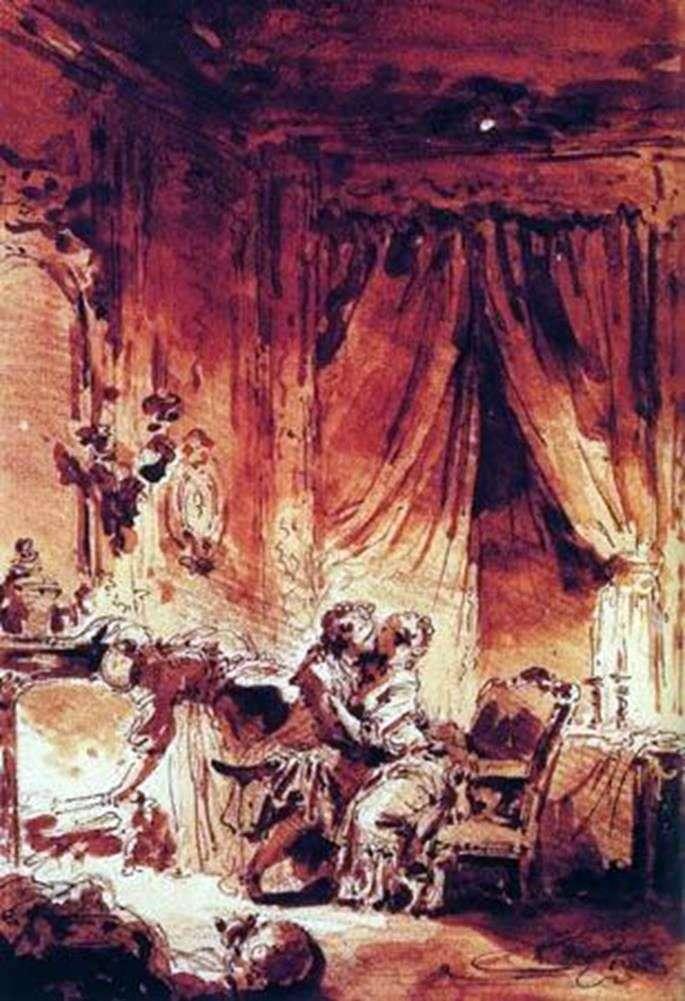خادم الغفران   جان أونوريه Fragonard