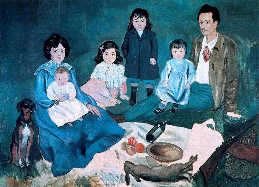 عائلة سولير   بابلو بيكاسو
