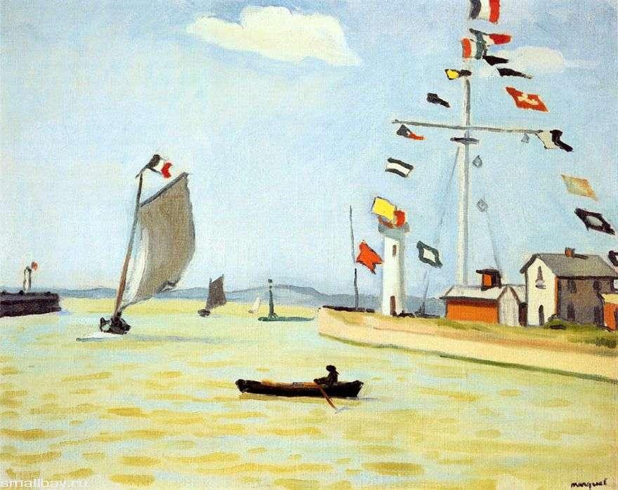 ميناء في هونفلور   ألبرت ماركي