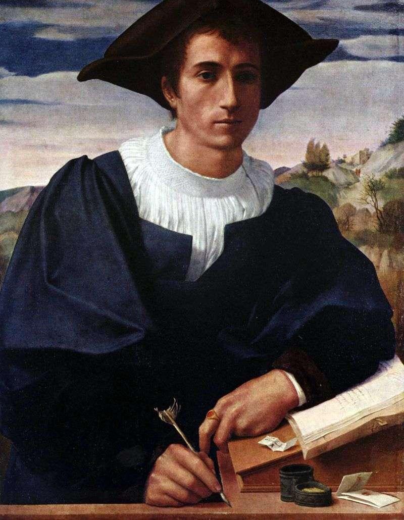 شاب على المنضدة   فرانشيسكو دي كريستوفانو فرانسيابيجيو