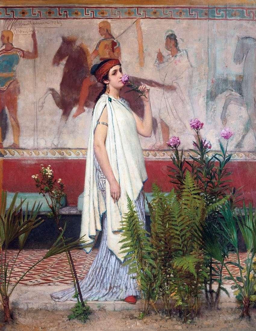 امرأة يونانية   لورانس ألما تيما