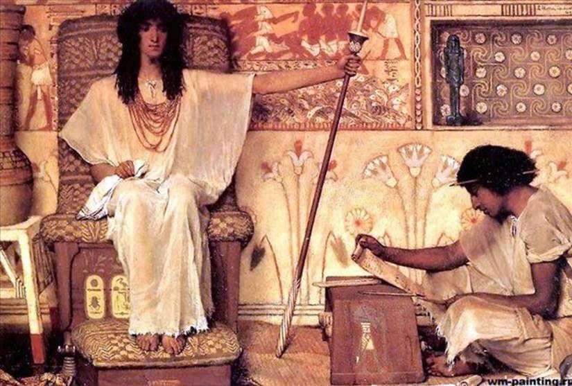 جوزيف   المشرف على صوامع فرعون   لورنس ألما تيما