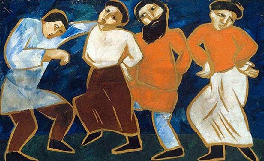رقصات الفلاحين   ناتاليا جونشاروفا