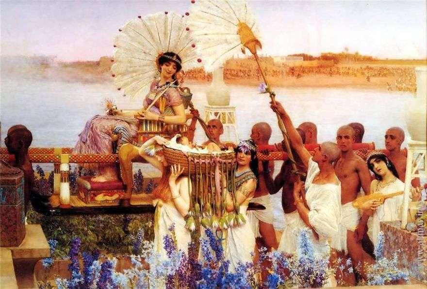 العثور على موسى   لورانس ألما Tadema