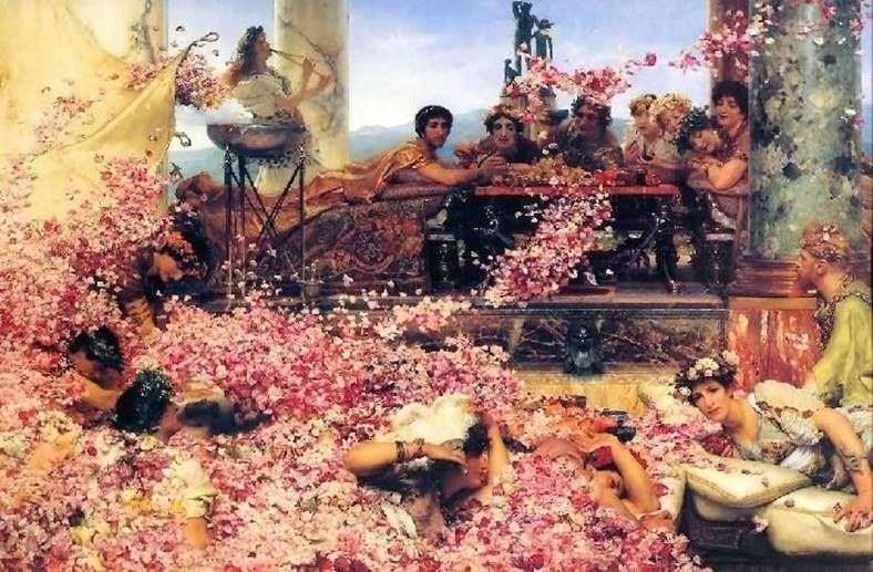 الورود Heliogabala   ألما Tadema لورانس