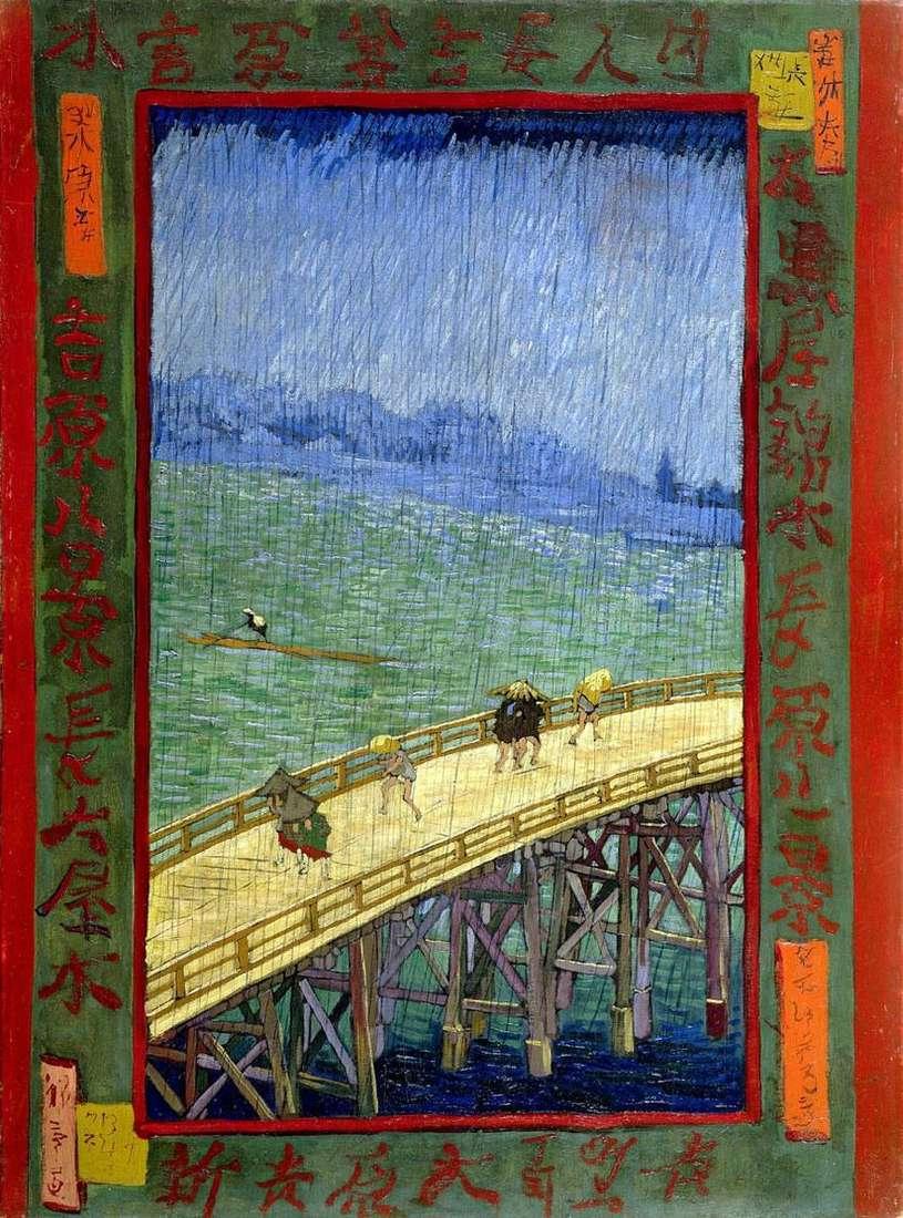 جسر إلى المطر   فنسنت فان جوخ