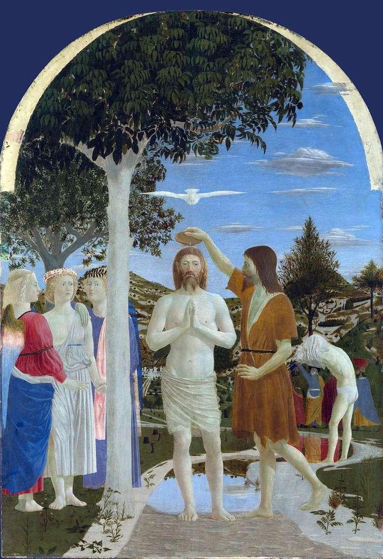 معمودية المسيح   بييرو ديلا فرانشيسكا