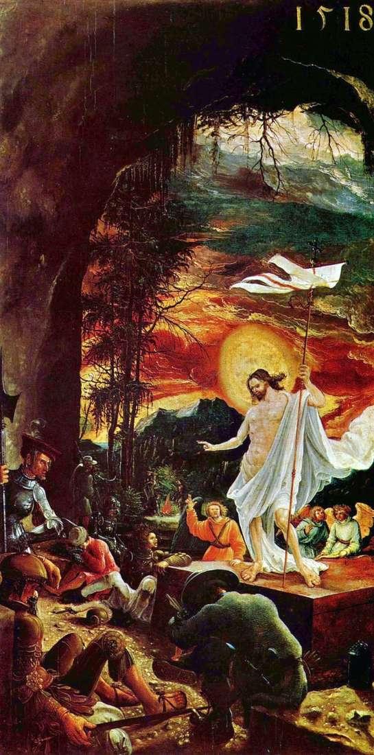 قيامة المسيح   ألبريشت التدورفر