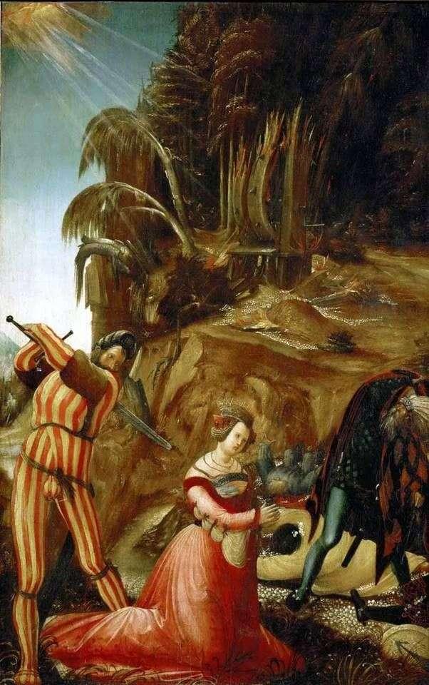 إعدام القديسة كاترين   ألبريشت التدورفر
