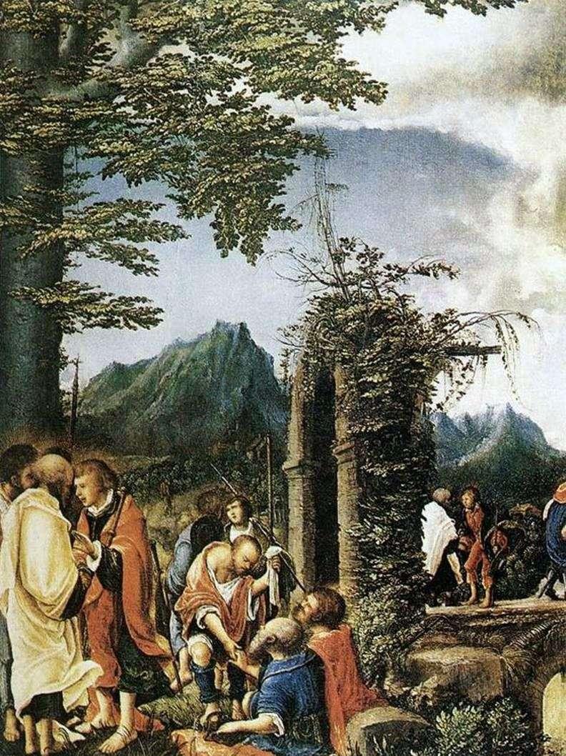 بالتواصل من الرسل   ألبريشت التدورفر