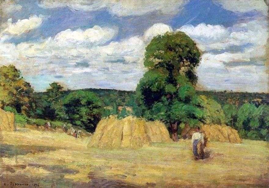 حصاد بالقرب من Montfuco   كميل بيسارو