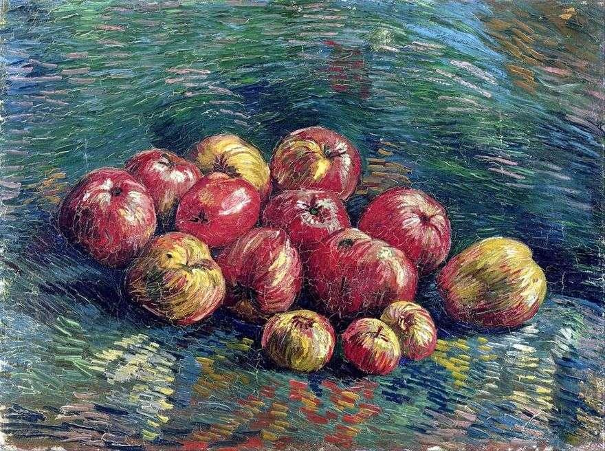 لا تزال الحياة مع التفاح   فنسنت فان جوخ