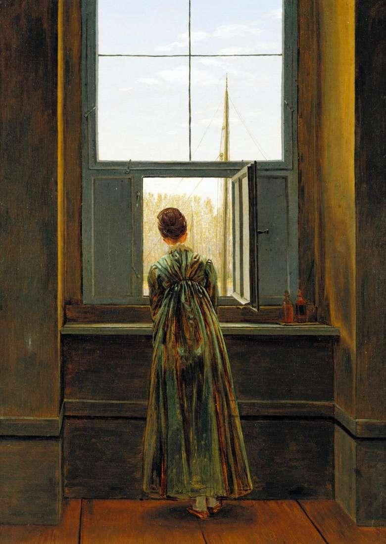 المرأة بجوار النافذة كاسبار ديفيد فريدريش