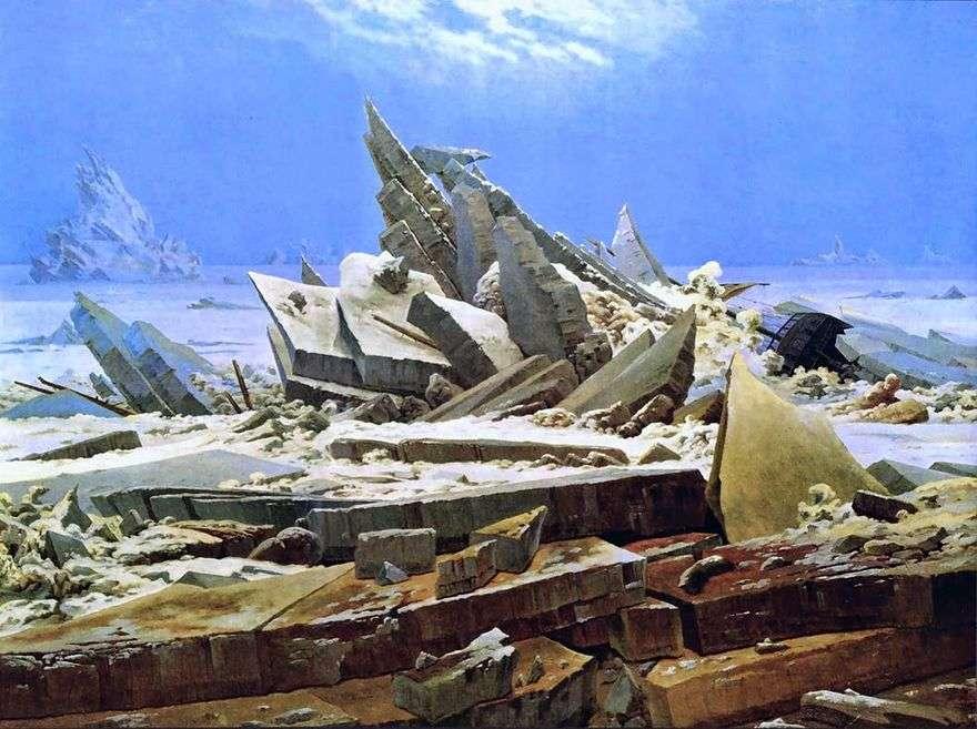 حطام السفينة القطبية الشمالية   كاسبار ديفيد فريدريش