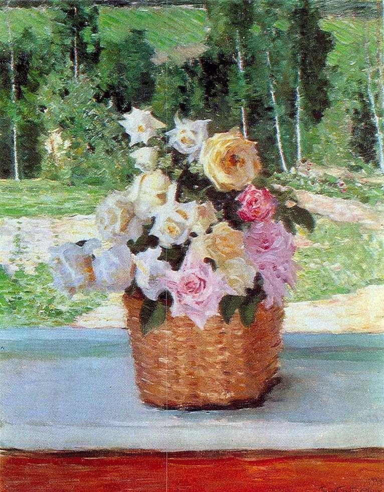 الورود على النافذة   ايجور Grabar