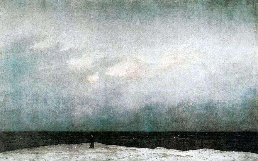 الراهب على البحر   Caspar ديفيد فريدريش