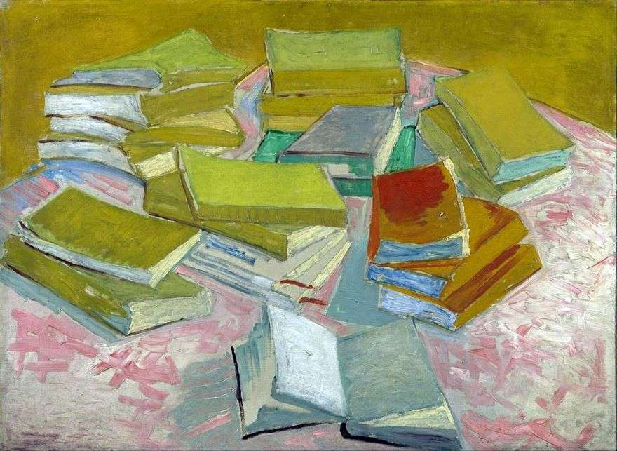 لا تزال الحياة: الروايات الفرنسية   فنسنت فان جوخ
