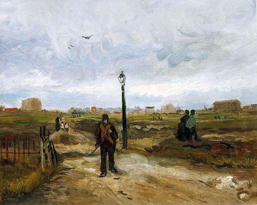 ضواحي باريس   فنسنت فان جوخ