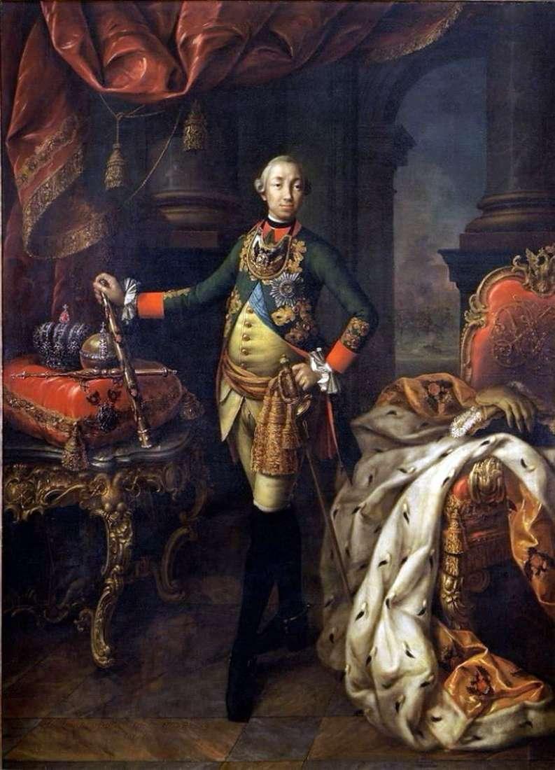 صورة الإمبراطور بيتر الثالث   أليكسي أنتروف