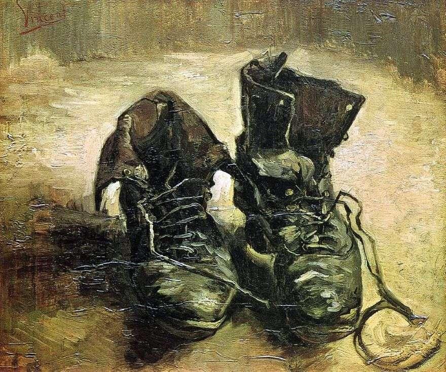 زوج من الأحذية II   فنسنت فان جوخ
