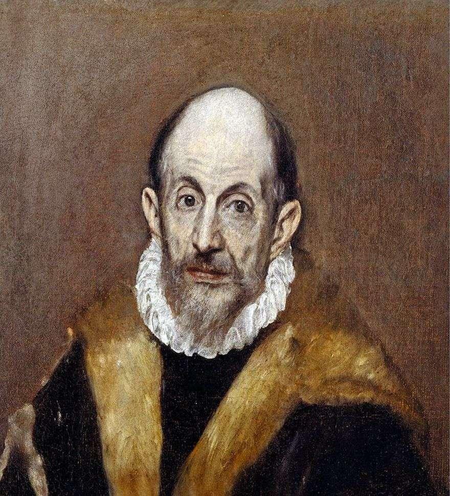 بورتريه ذاتي   El Greco