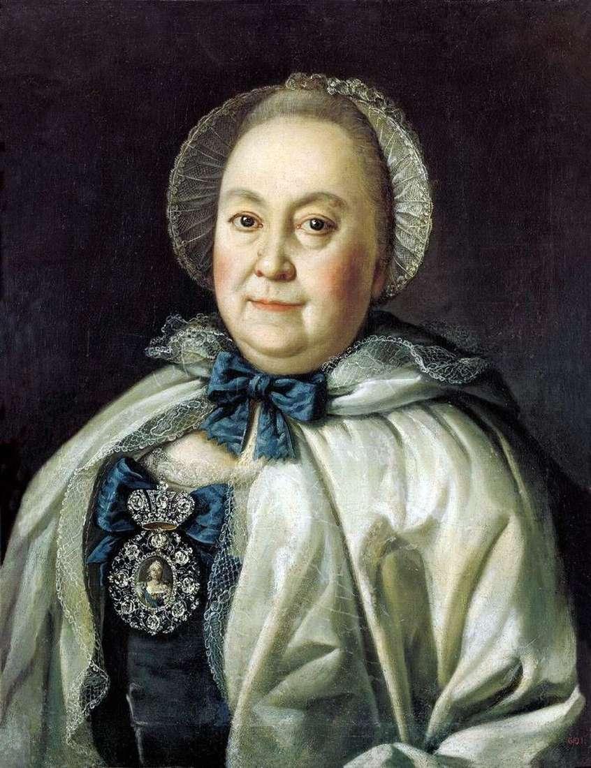 صورة سيدة الدولة ماريا أندريفني روميانتسيفا   أليكسي أنتروف