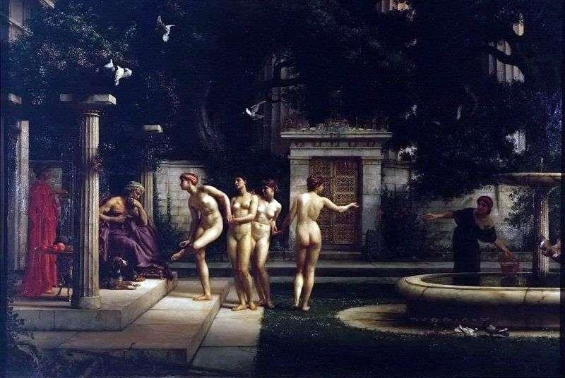 زيارة إلى Asclepius   مؤشر إدوارد جون