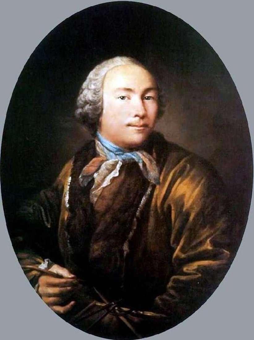 بورتريه ذاتي   إيفان أرجونوف