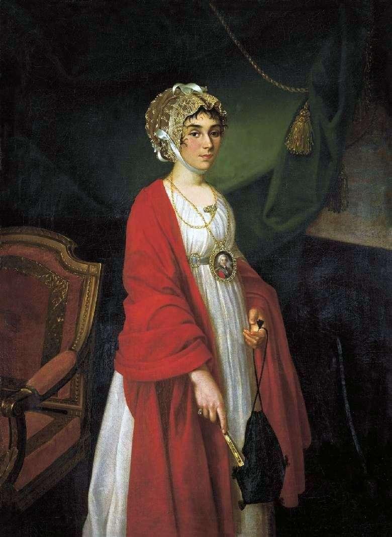صورة للممثلة P. I. Kovaleva Zhemchugova   إيفان أرجونوف