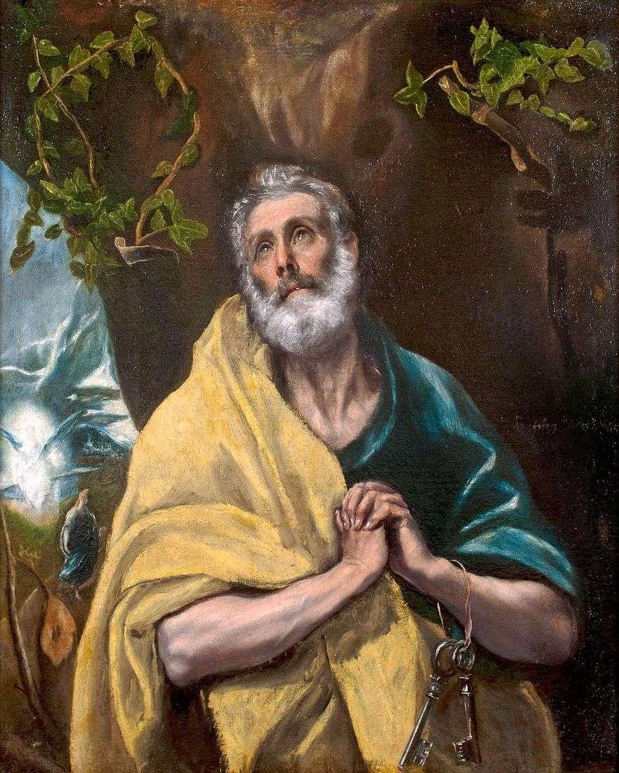 الرسول بيتر   جريكو