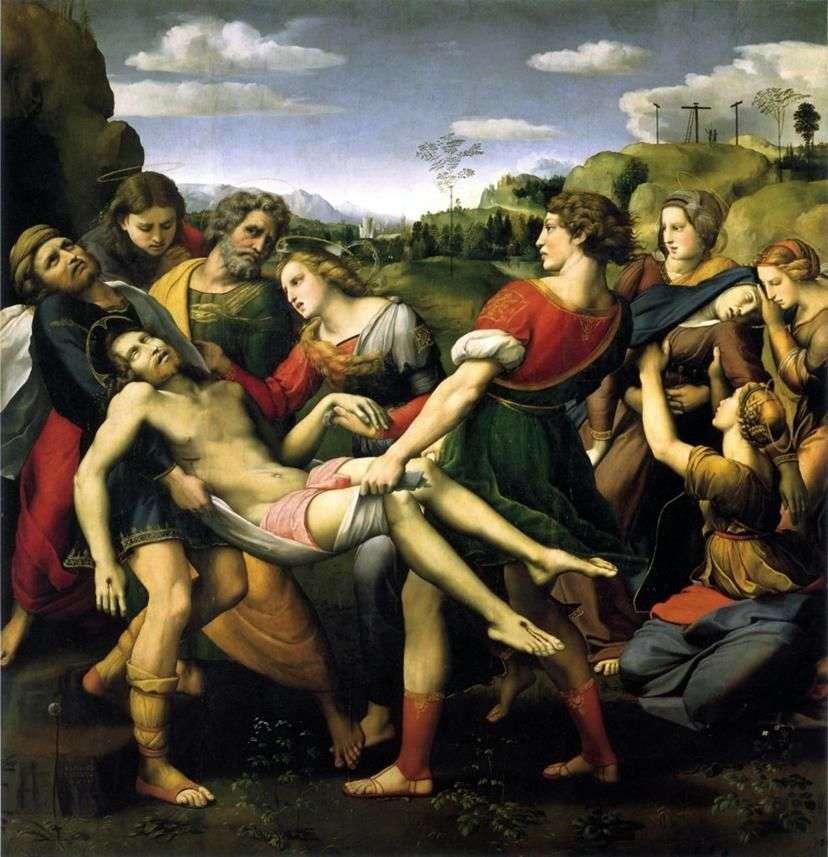 شواهد القبور   رافائيل سانتي
