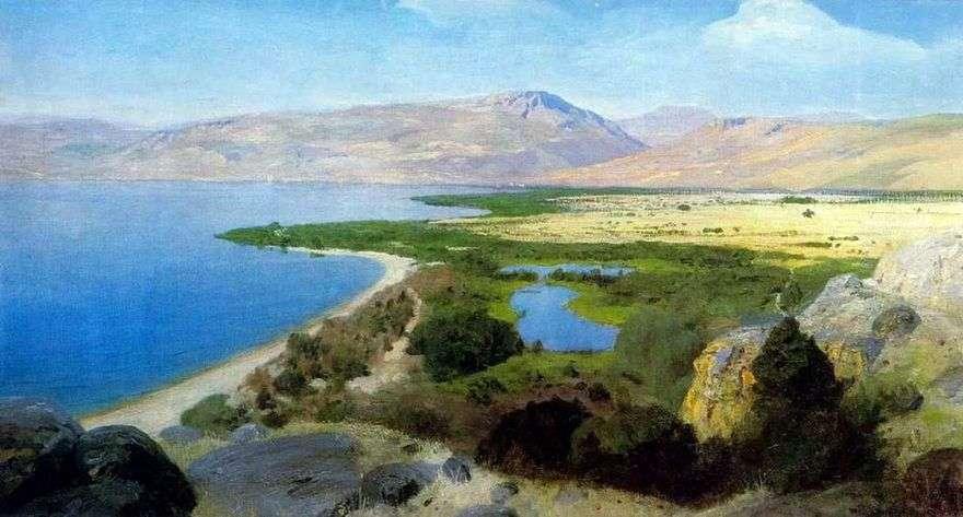 بحيرة جينيساريت   فاسيلي بولينوف