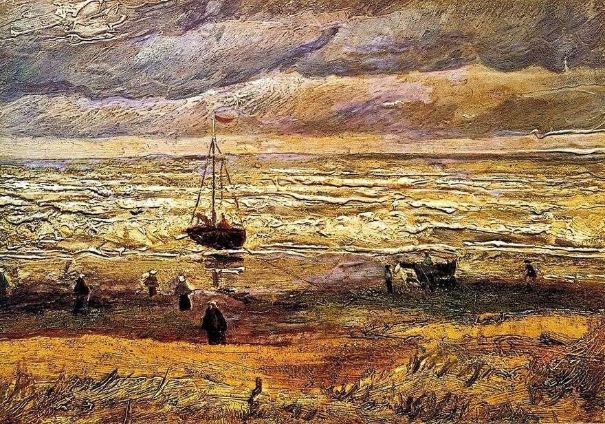 الشاطئ في Scheveningen   فنسنت فان جوخ