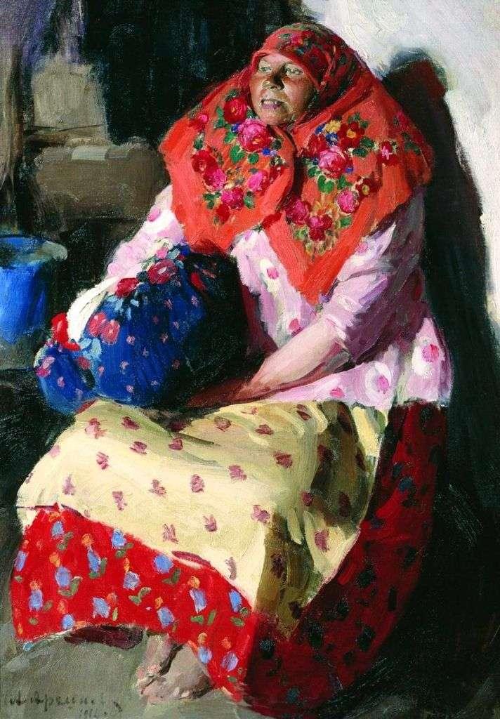 المرأة الفلاحية   أبرام أركيبوف
