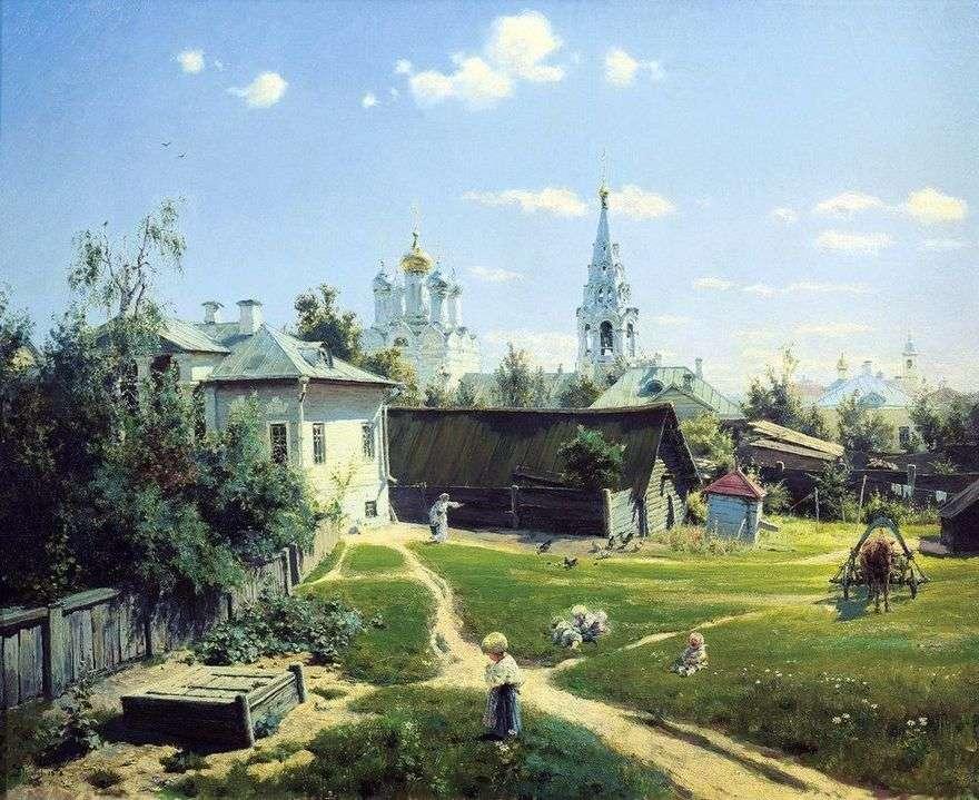 ساحة موسكو   فاسيلي بولينوف