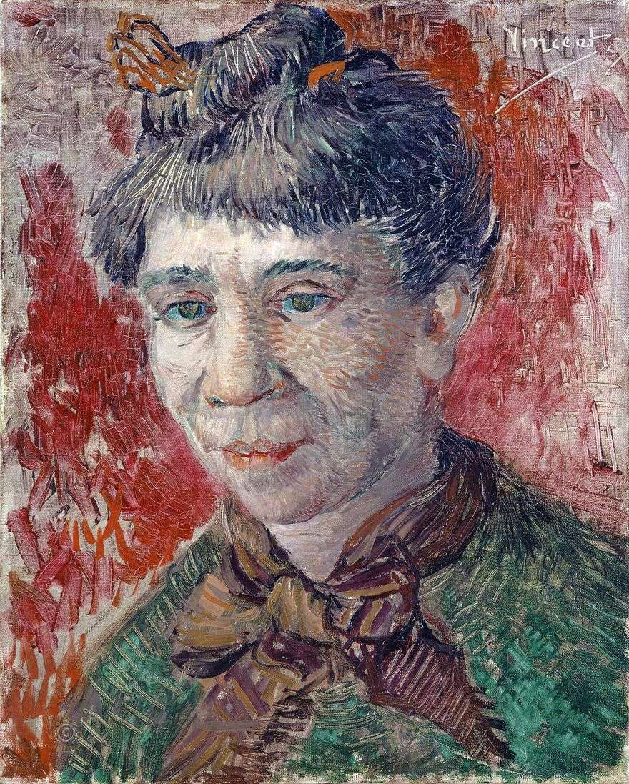 صورة لامرأة   فنسنت فان جوخ