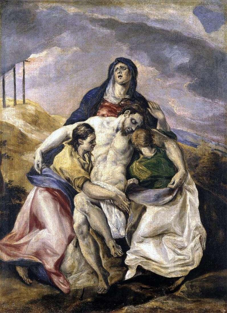 بيتا ، أو رثاء المسيح   جريكو