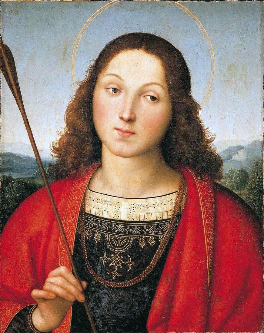 القديس سيباستيان   رافائيل سانتي