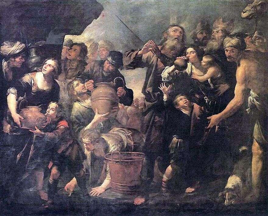 موسى تعدين المياه من صخرة   جيوشينو أسيريتو