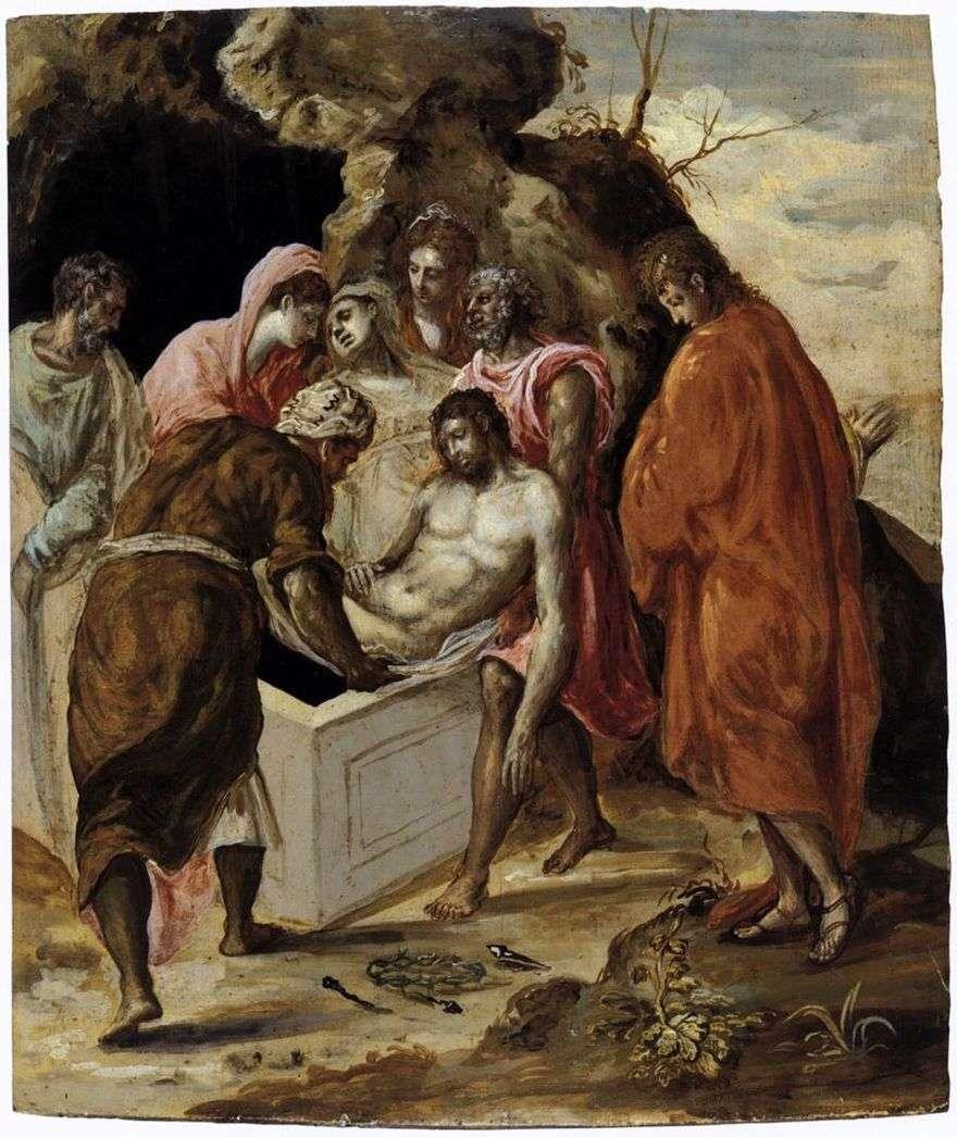 موقف المسيح في القبر   جريكو