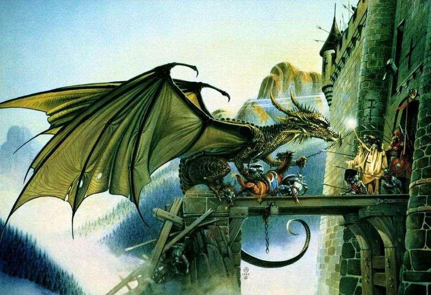 هجوم القلعة   كريس أخيلوس
