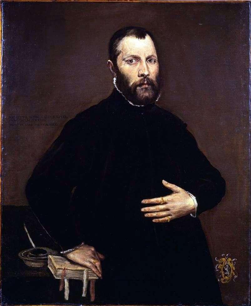 صورة لرجل   El Greco