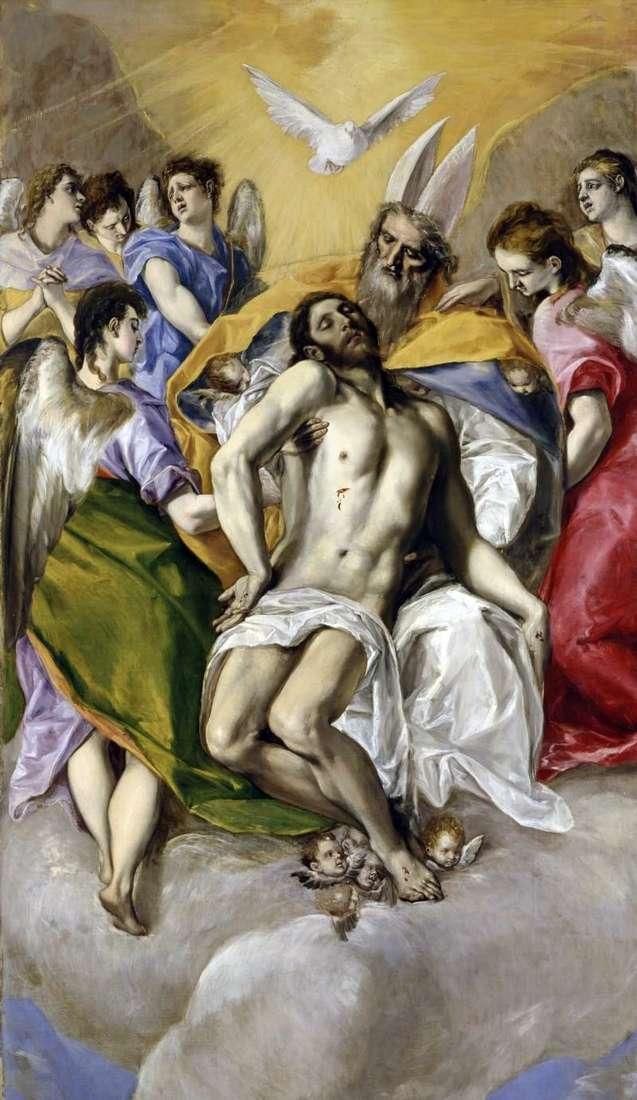 الثالوث المقدس   جريكو