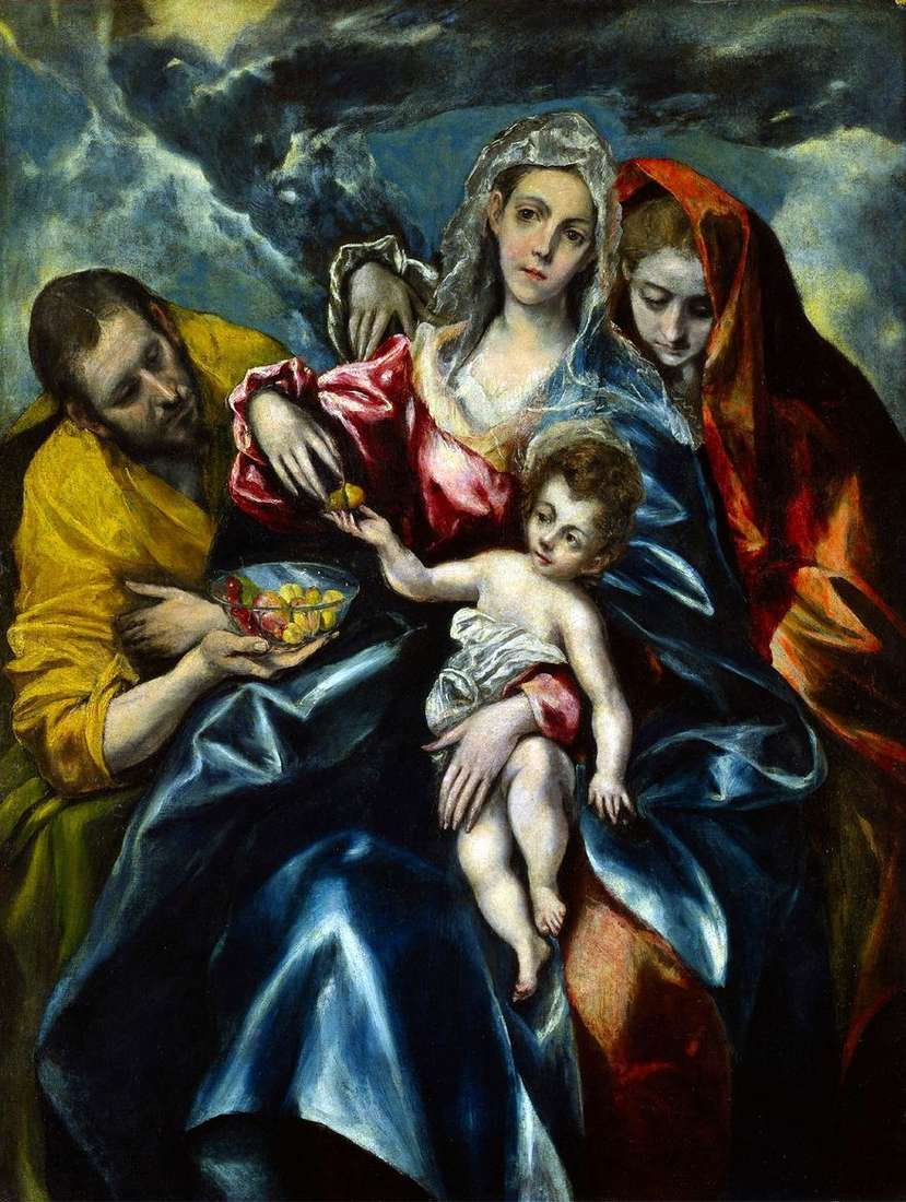 العائلة المقدسة مع ماري مجدلين   جريكو
