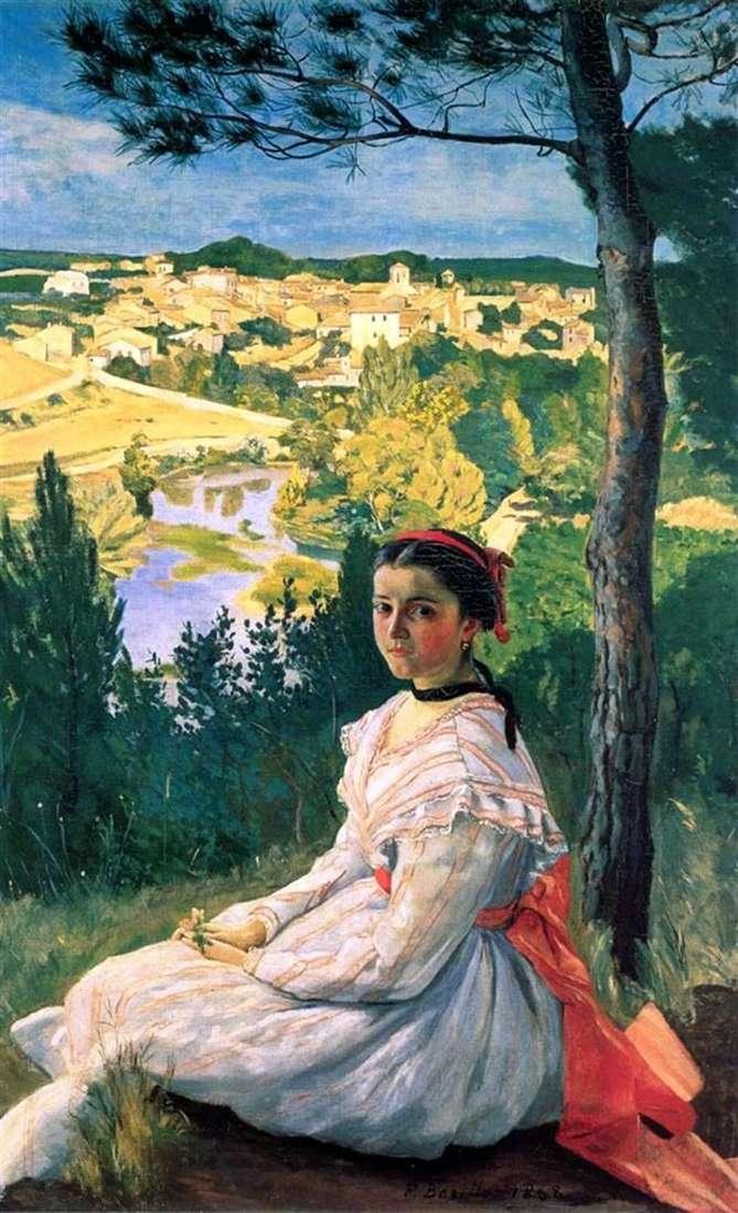 منظر لقرية Castelnua les les   Frédéric Basile