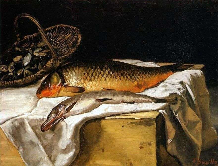لا تزال الحياة مع السمك   فريدريك باسيلي