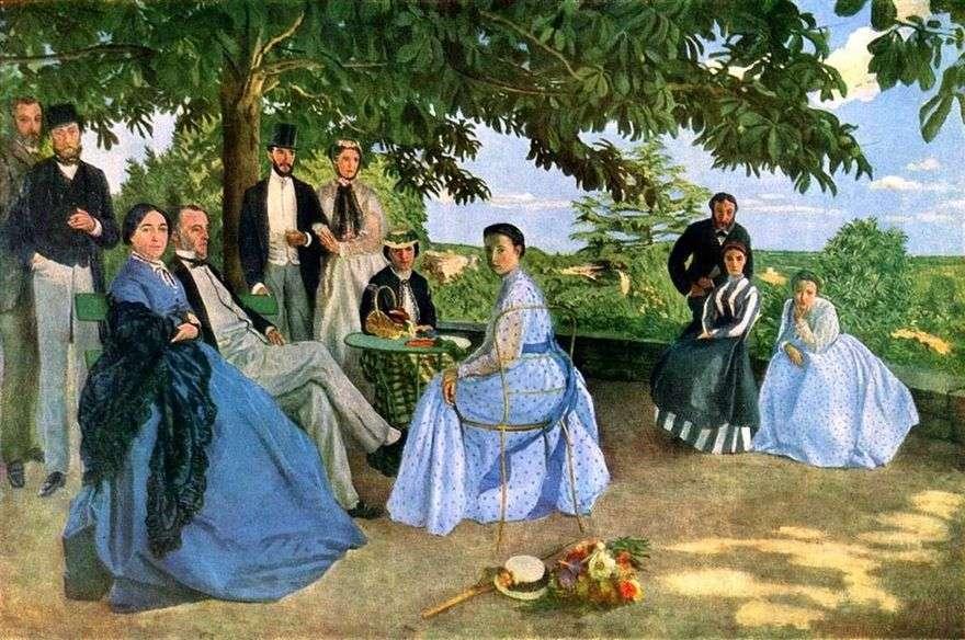 تجمع العائلة   فريدريك باسيلي