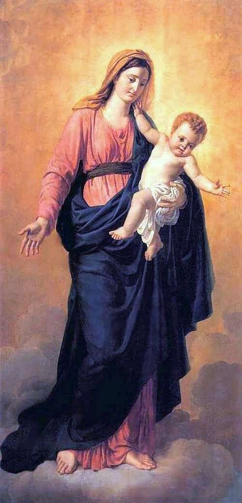 العذراء والطفل   أوريست كيبرنسكي