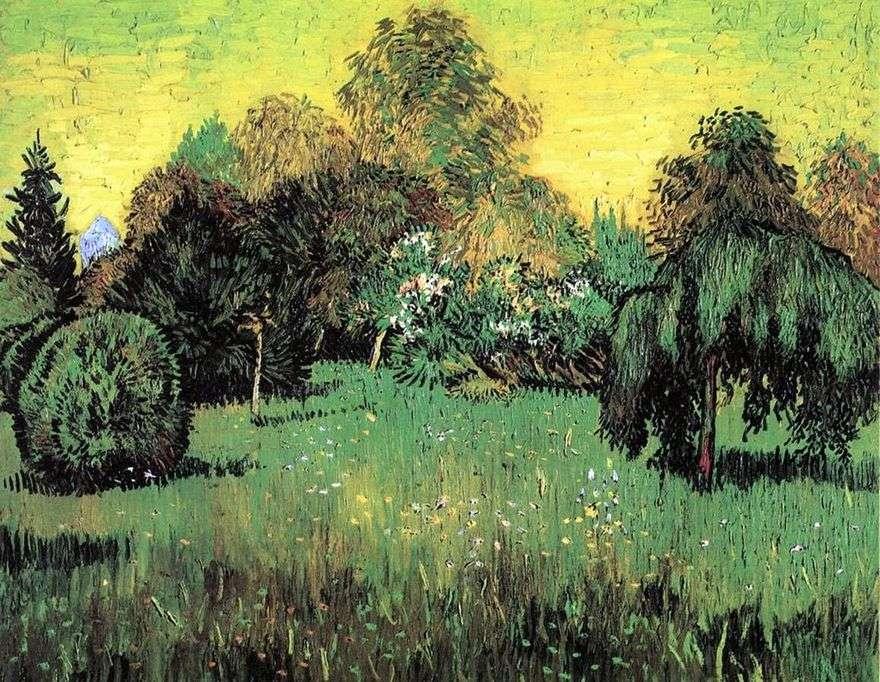 حديقة الشاعر (حديقة الشعراء)   فنسنت فان جوخ